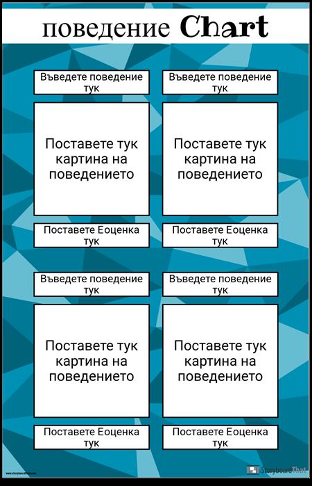 Плакат на Поведението
