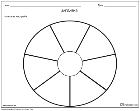 Кръгова Диаграма - 9