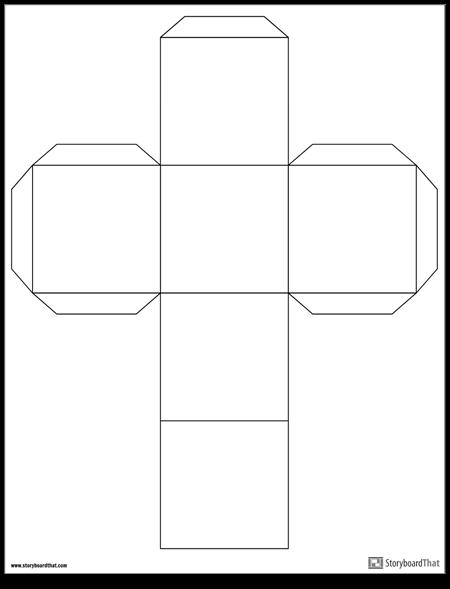 Шаблон за куб
