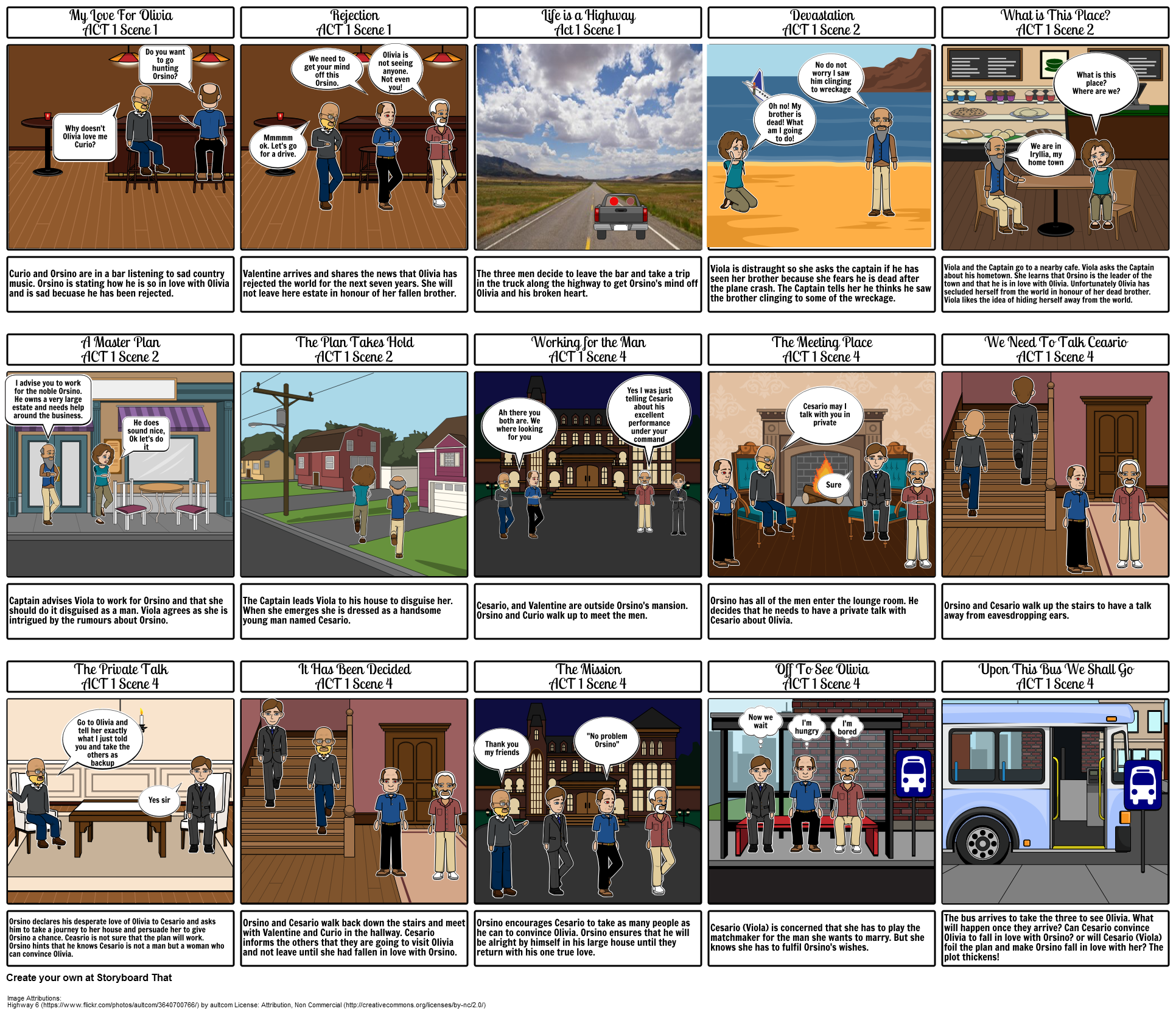 Shakespeare: A Modern Take on The Twelfth Night. By: Billy Jeffcoat 8J