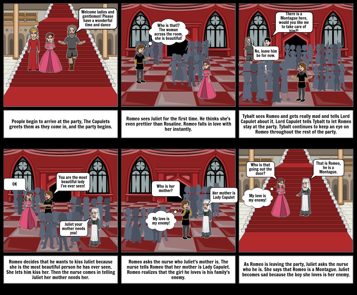 Romeo Juliet Act 1 Scene 5