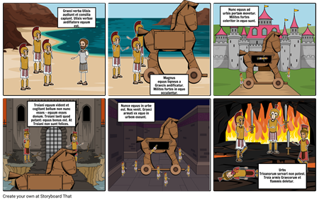 Trojan Horse StoryBoard