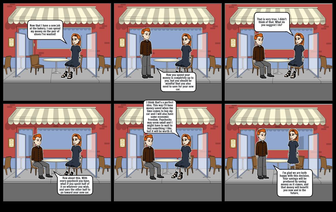Mixed Economy Comic Strip