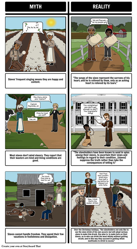 A Narrative of the Life of Frederick Douglass Mythbusters