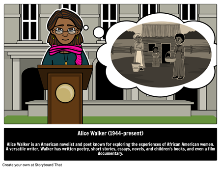 "compare and contrast of alice walker Comparison/contrast of characters mama in alice walker's ""everyday use"" and the grandmother in flannery o'connor's ""a good man is hard to find"" – essay sample."