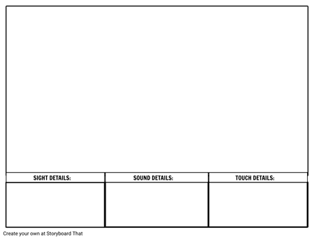 Descriptive Writing Practice Template