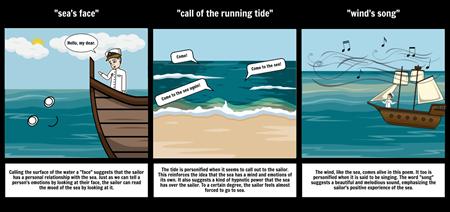 Sea Fever Figurative Language