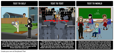 The Adventures of Tom Sawyer Text Connections