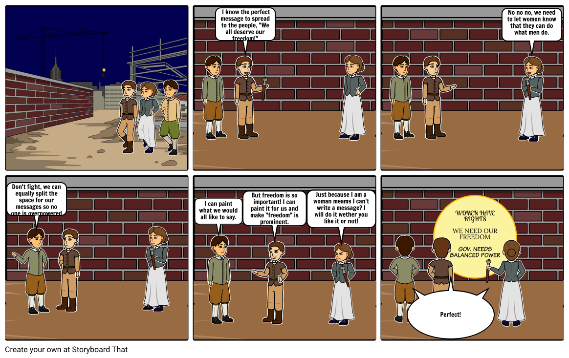 Enlightenment Comic Strip -Bridget Gomez-