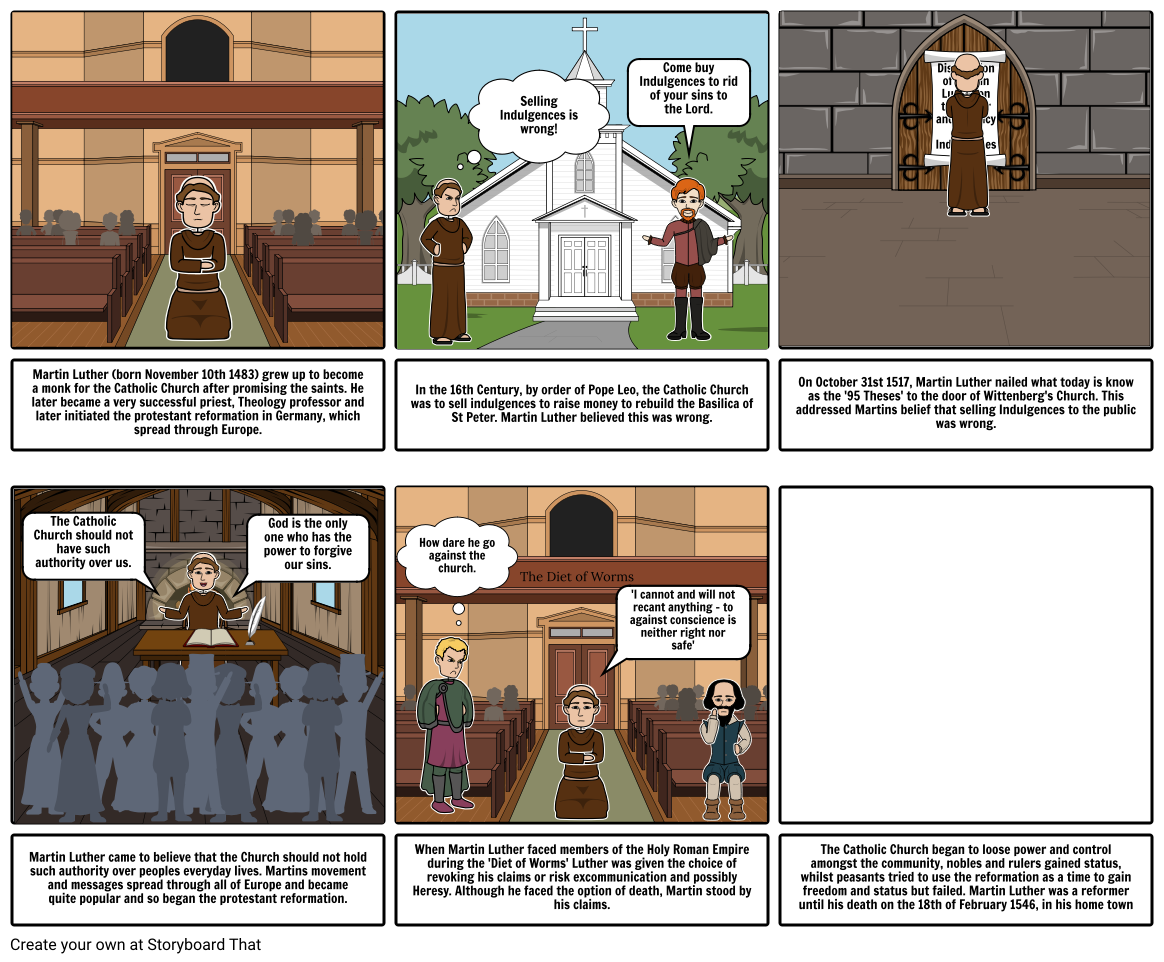 Martin Luther: A Story of the Reformation