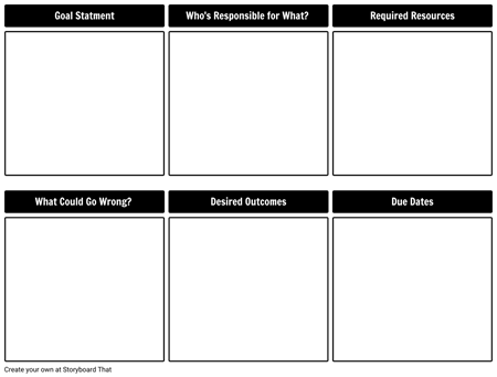 Team Plan Template