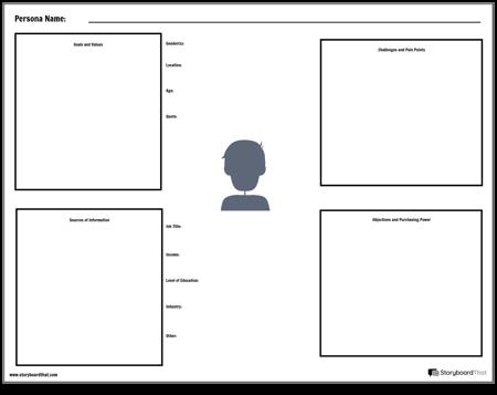 Persona Worksheet Template