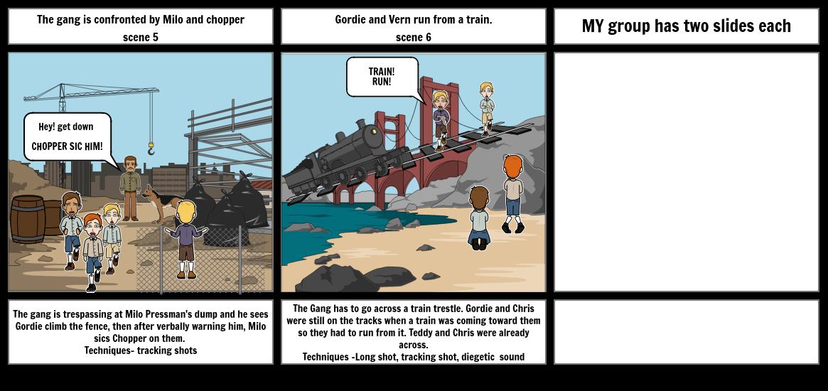 The body Storyboard