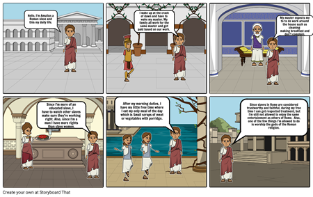 Daily Life of a Roman Slave Part 1