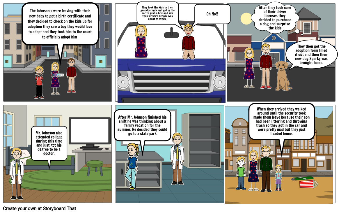 State and Local Government Cartoon Strip