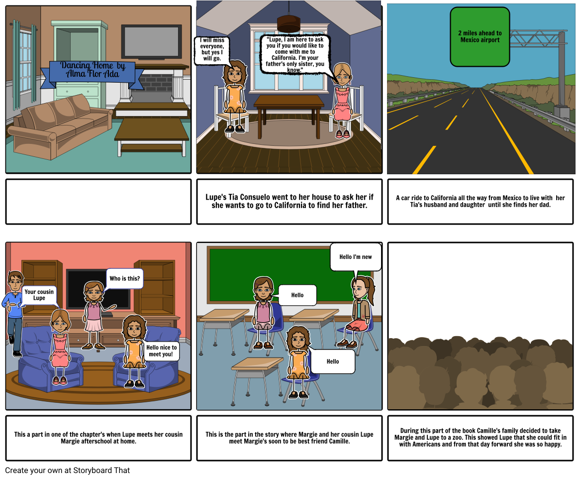 My book StoryBoard