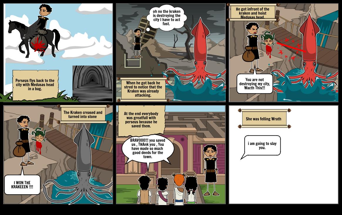 Perseus and medusa myth