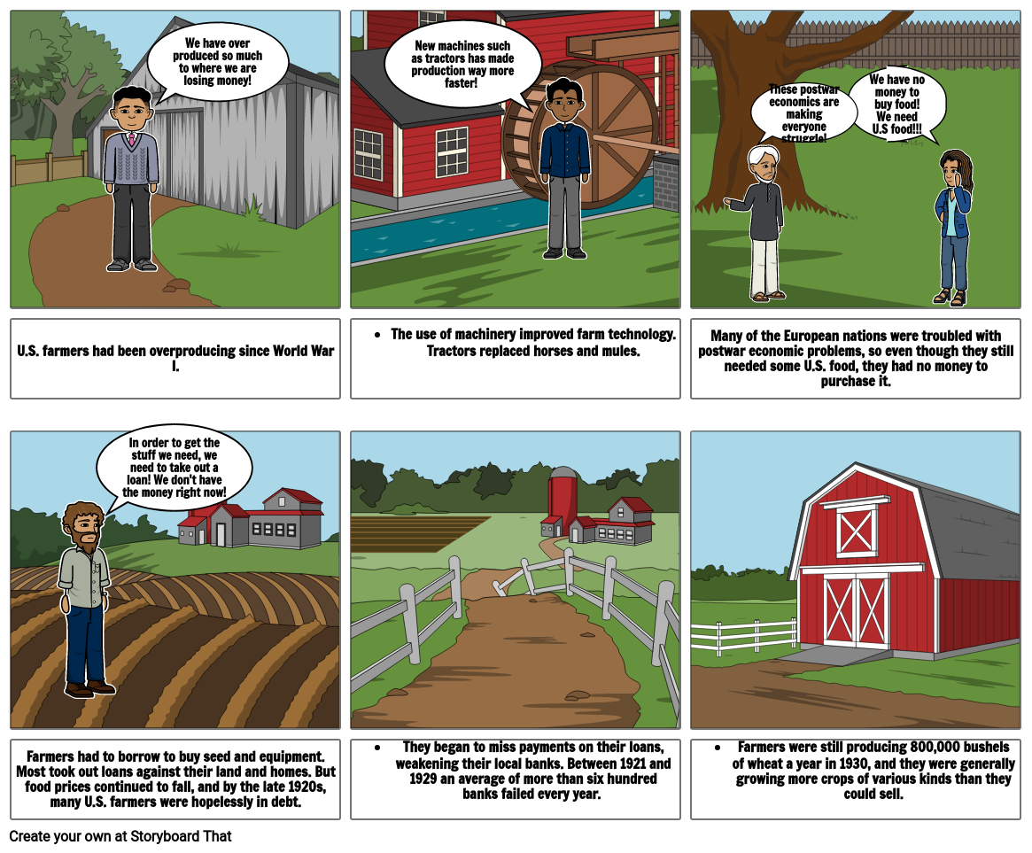Agriculture Comic
