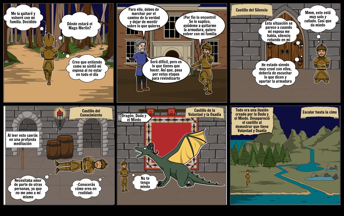 El Caballero de la Armadura Oxidada 2