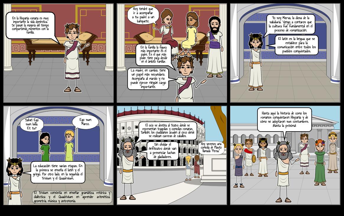 La historia romana contada por dioses