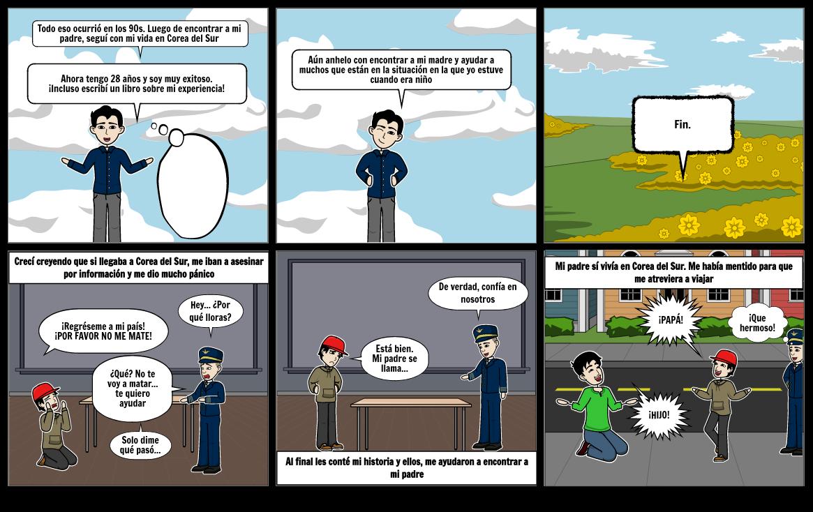 Refugiado comic