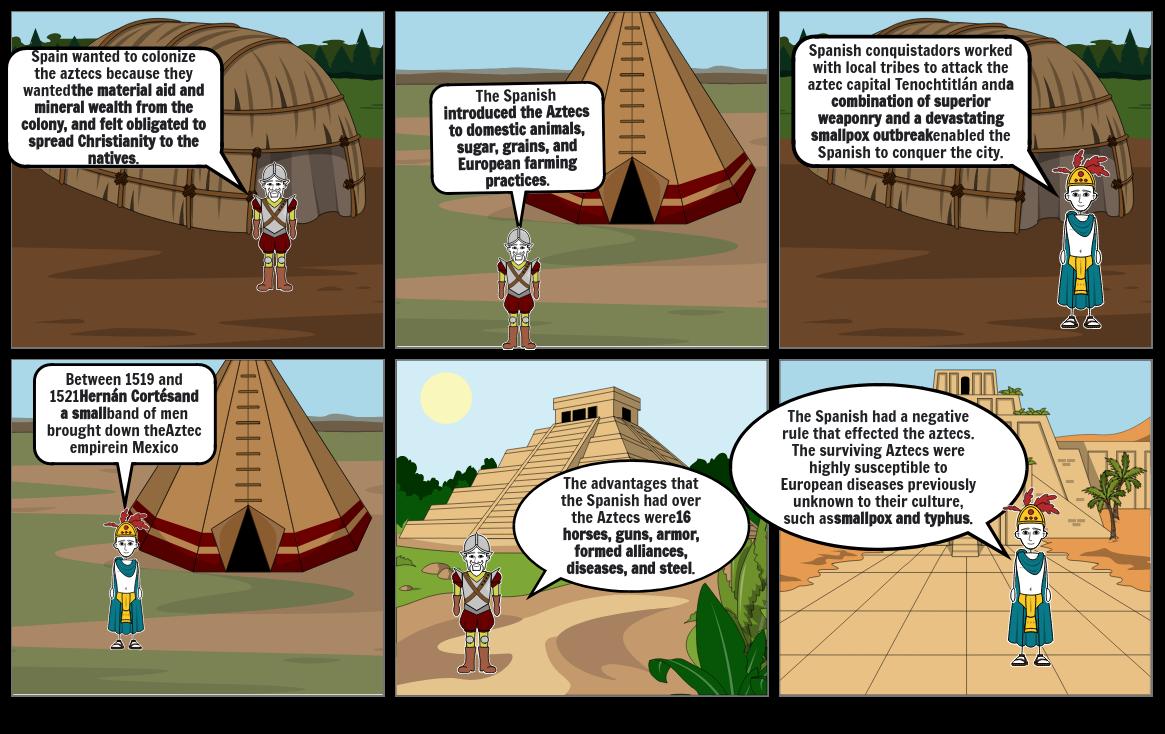 Aztec comic strip