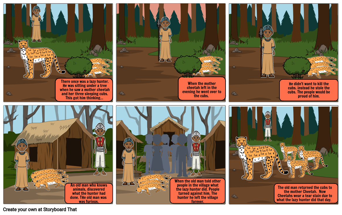 African Storyboard #2