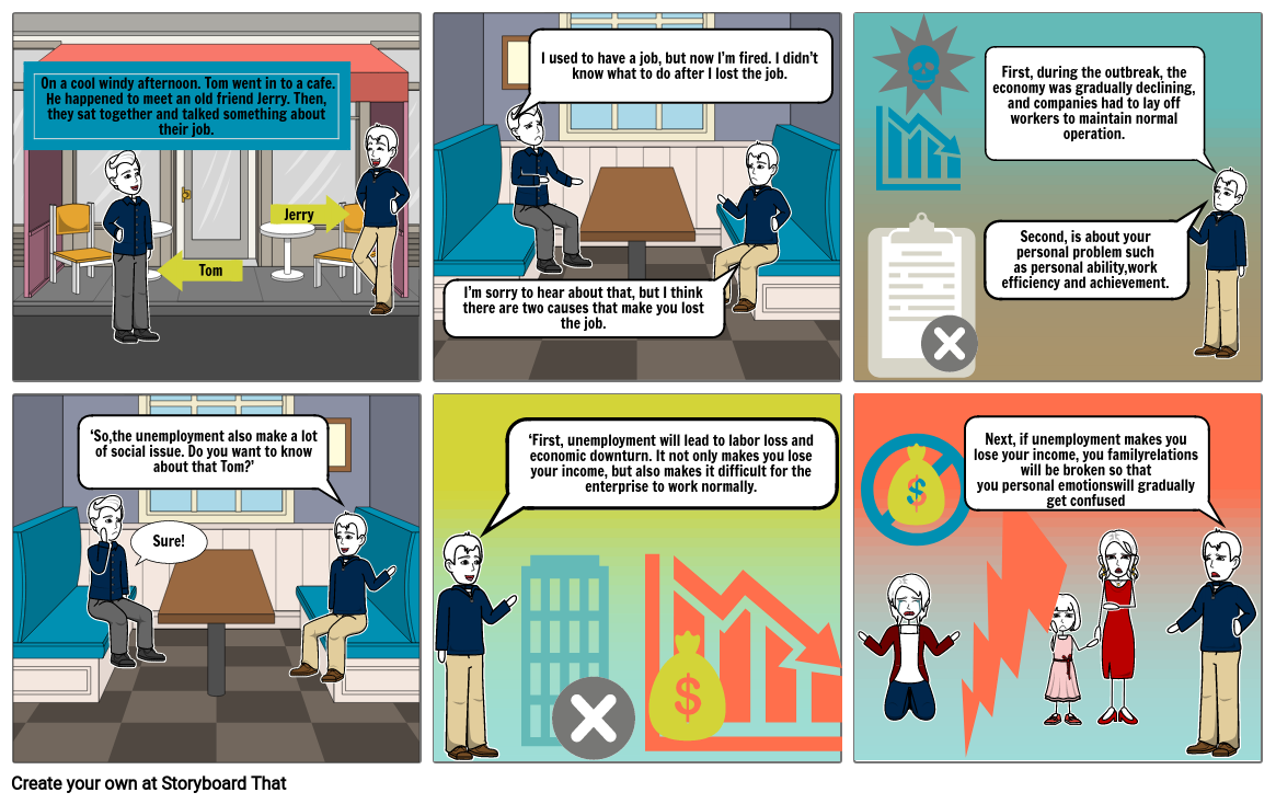 social issues story board