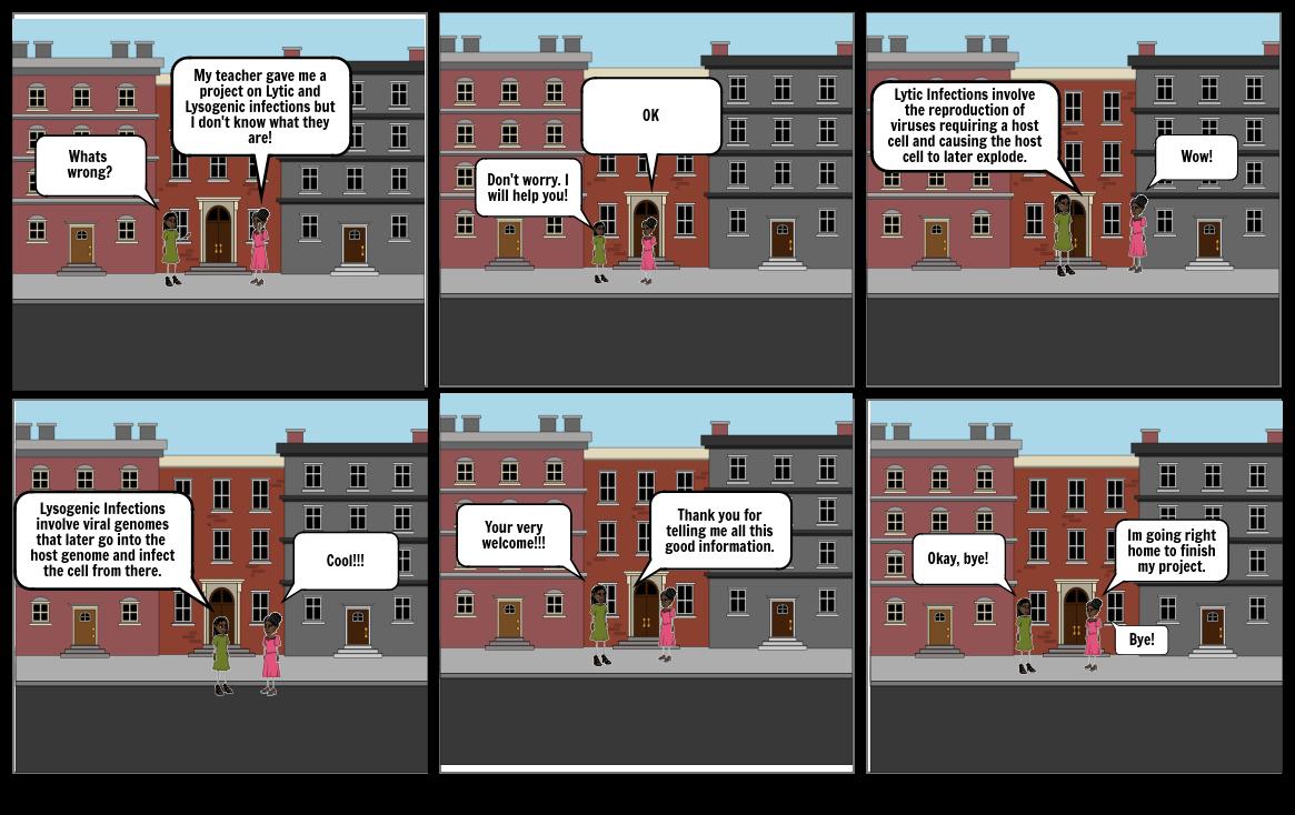 Biology Comic Strip