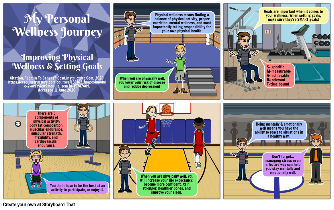 Improving Physical Wellness & Setting Goals Vol. 2