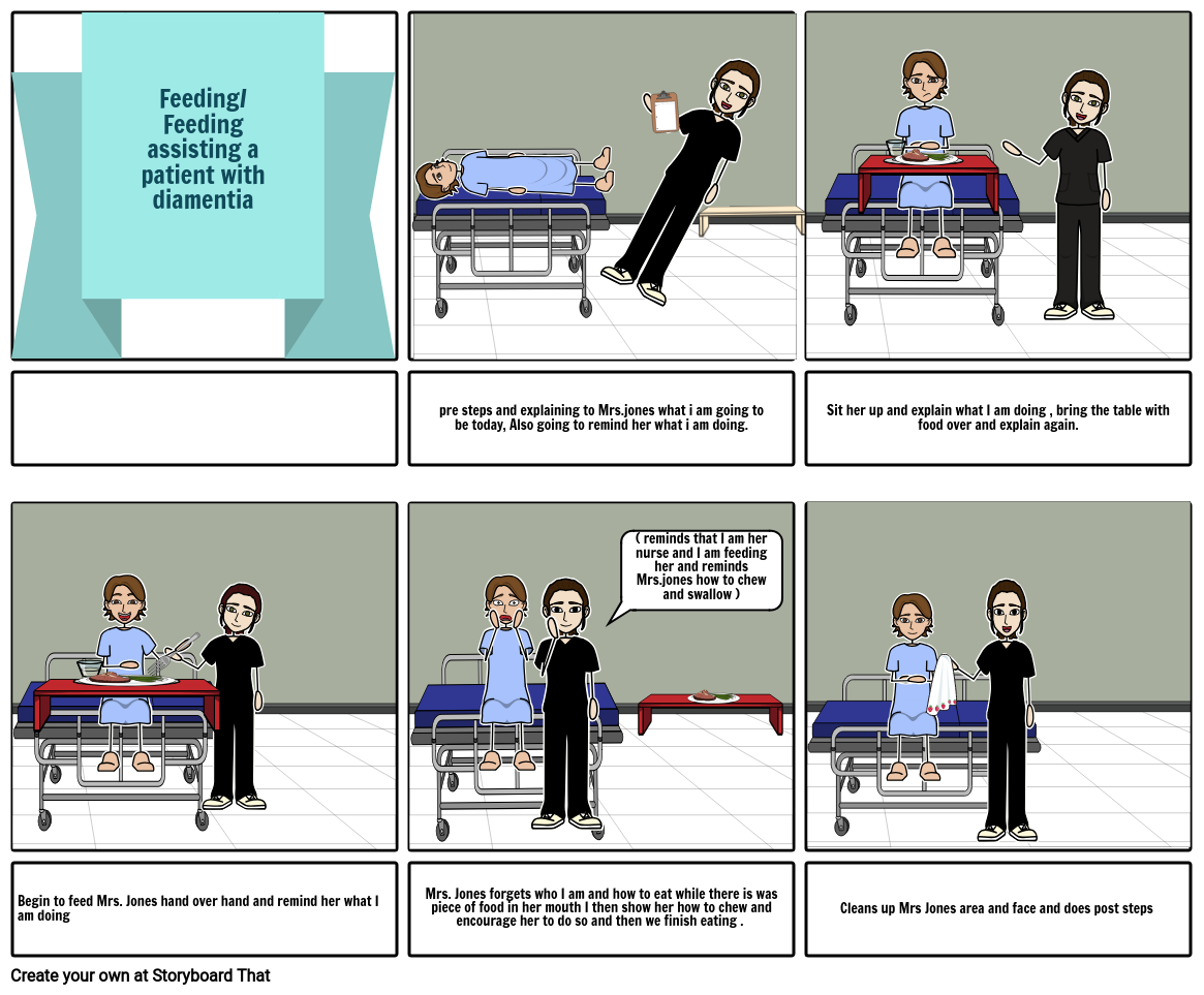 Healthcare storyboard By: Cailey G