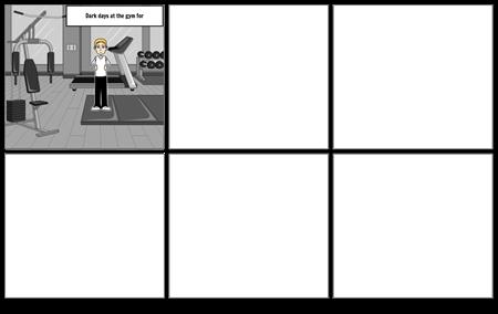 gym storyboard