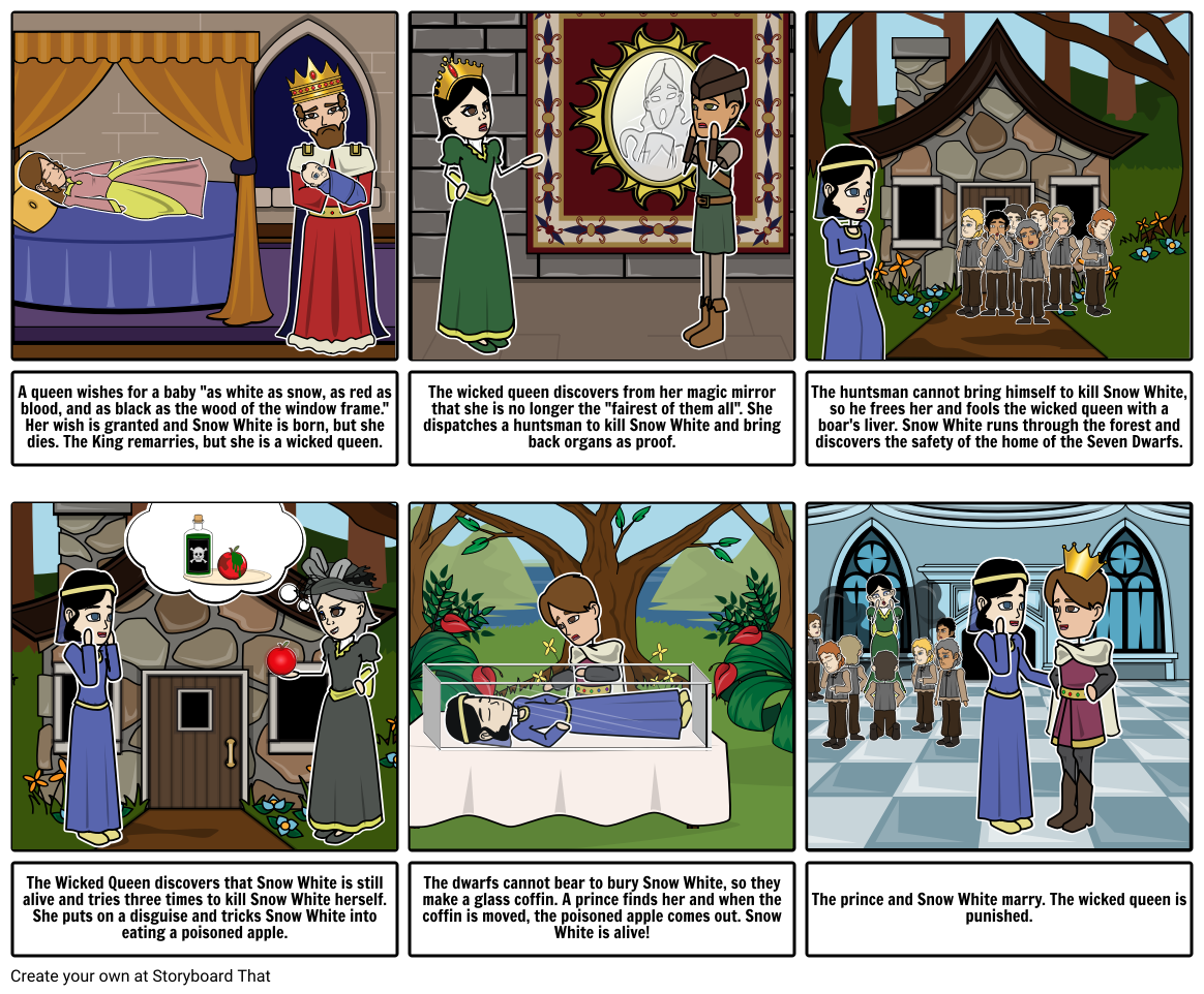 Snow White Storyboard by canadianbk