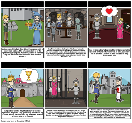 The Adventures of King Arthur and His Knights (adapted by Anne Rooney)