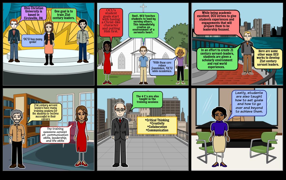 OCU - Developing 21st Century Servant-Leaders