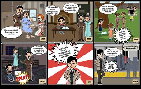 Primera parte del comic #1