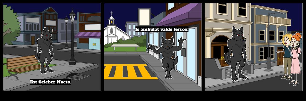 chloe superhero storyboard
