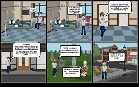 comic for health