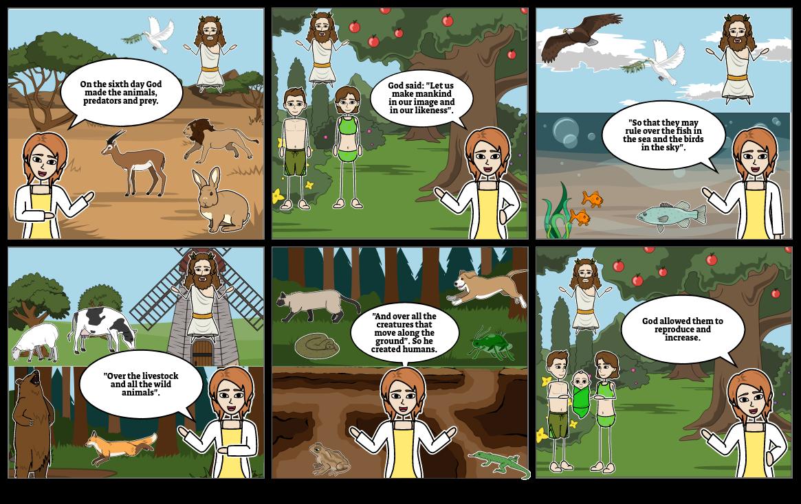 Creation Genesis (1-2) Page 3