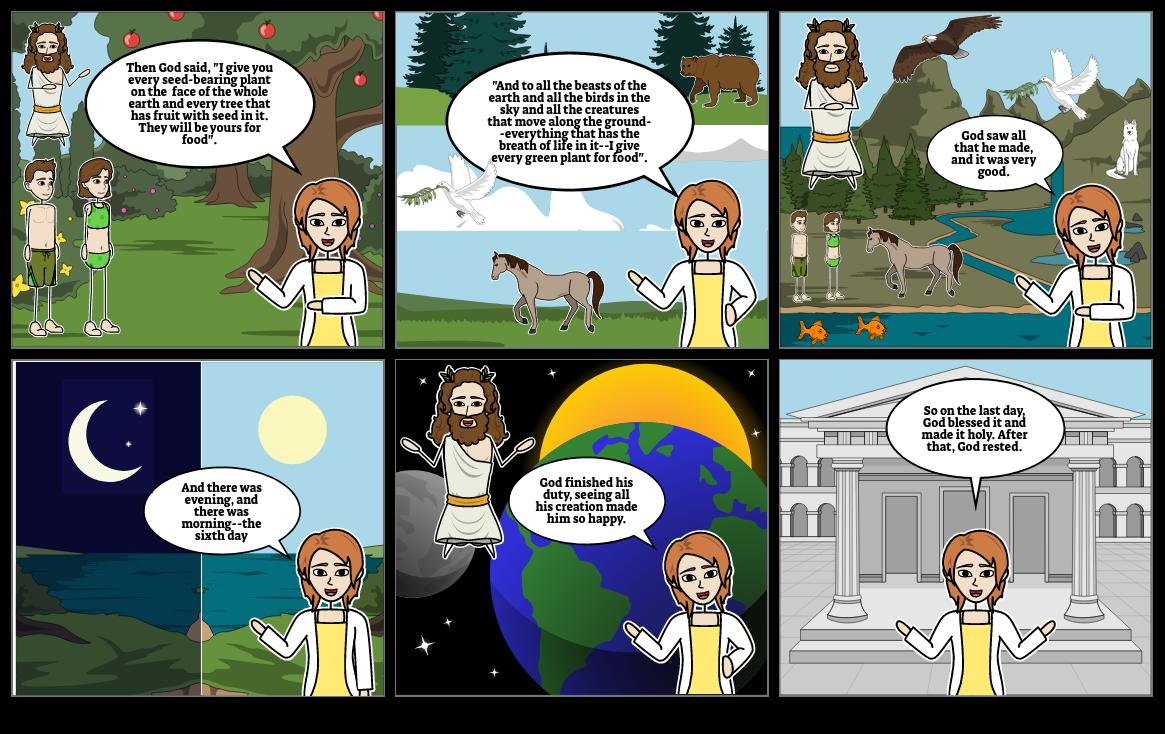 Creation Genesis (1-2) Page 4