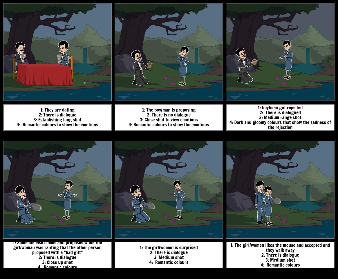 Storyboard practise =- english