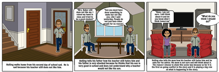 """Week 2 pages 16-27 of """"The Wednesday Wars""""by Gary D. Schmidt"""