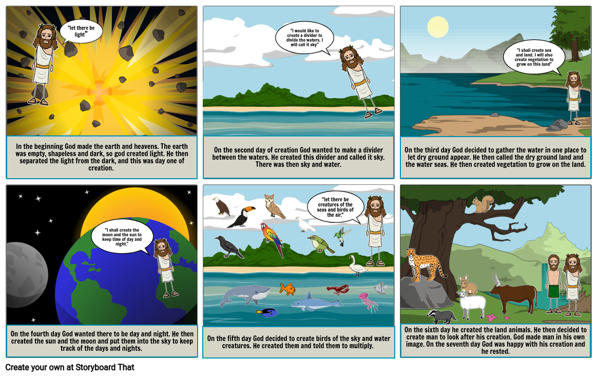 The Creation Story of Genesis