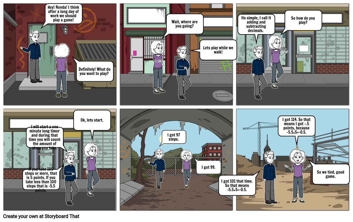 Math Storyboard