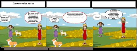 como nacen los perros