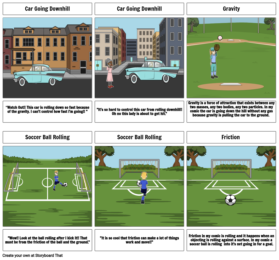 Science story Storyboard by kennedys1