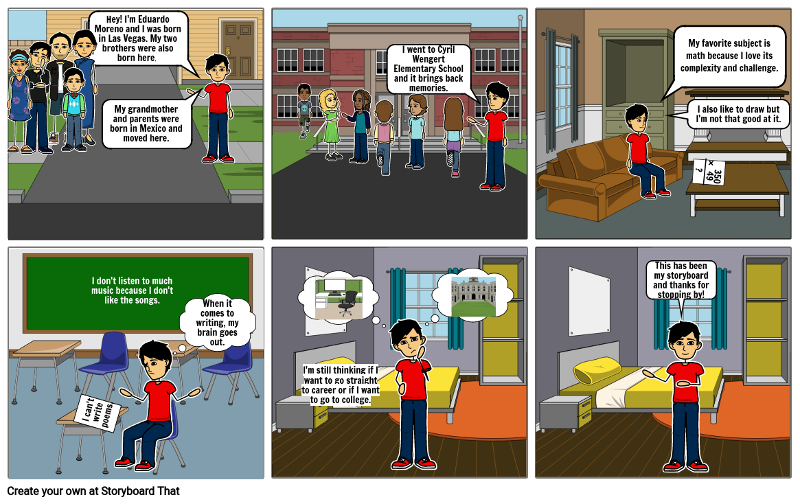 P.7 Storyboard Project
