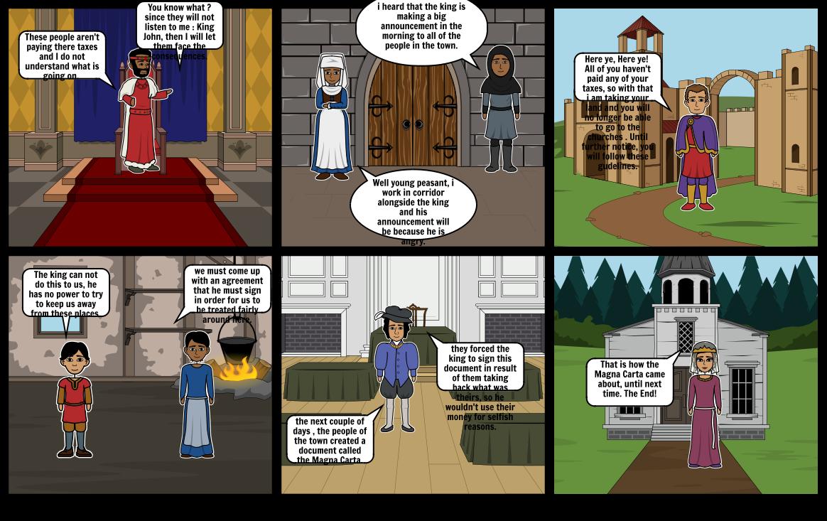 Magna Carta Comic