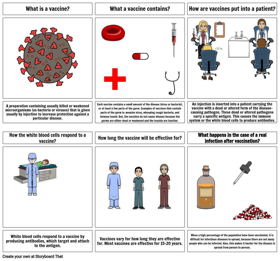 Science - How do vaccinations work?