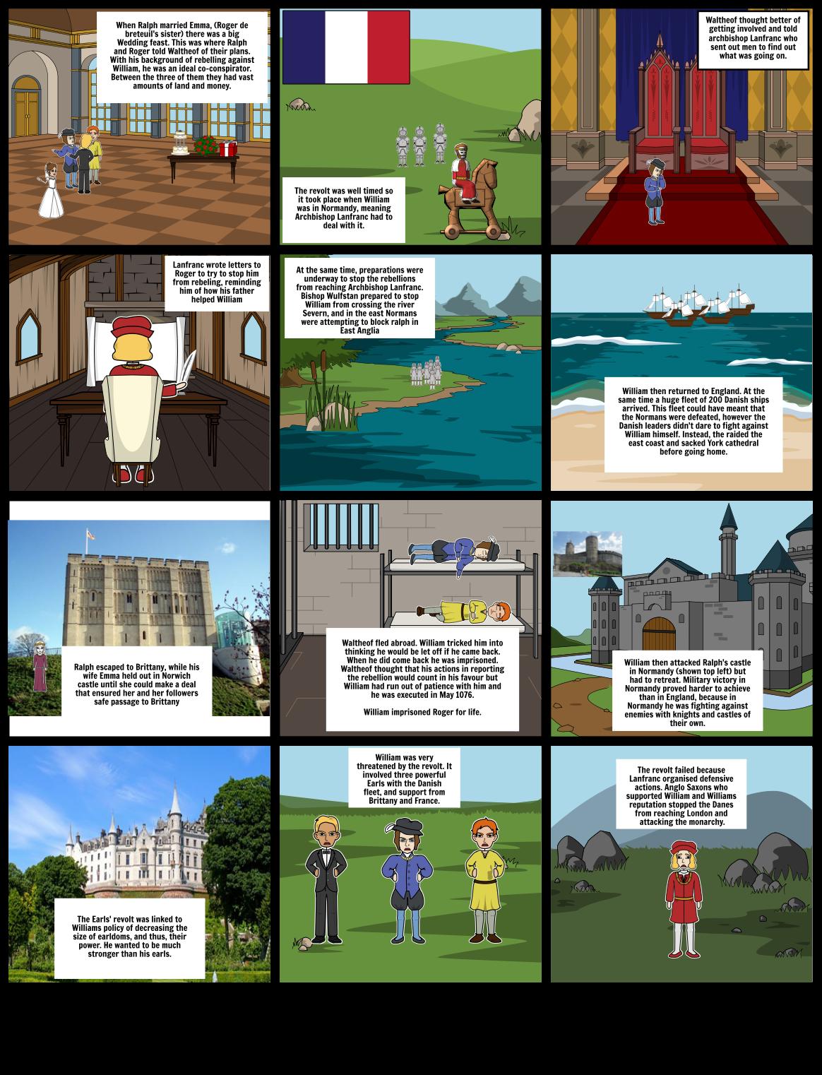 Revolt of the Earls, 1075